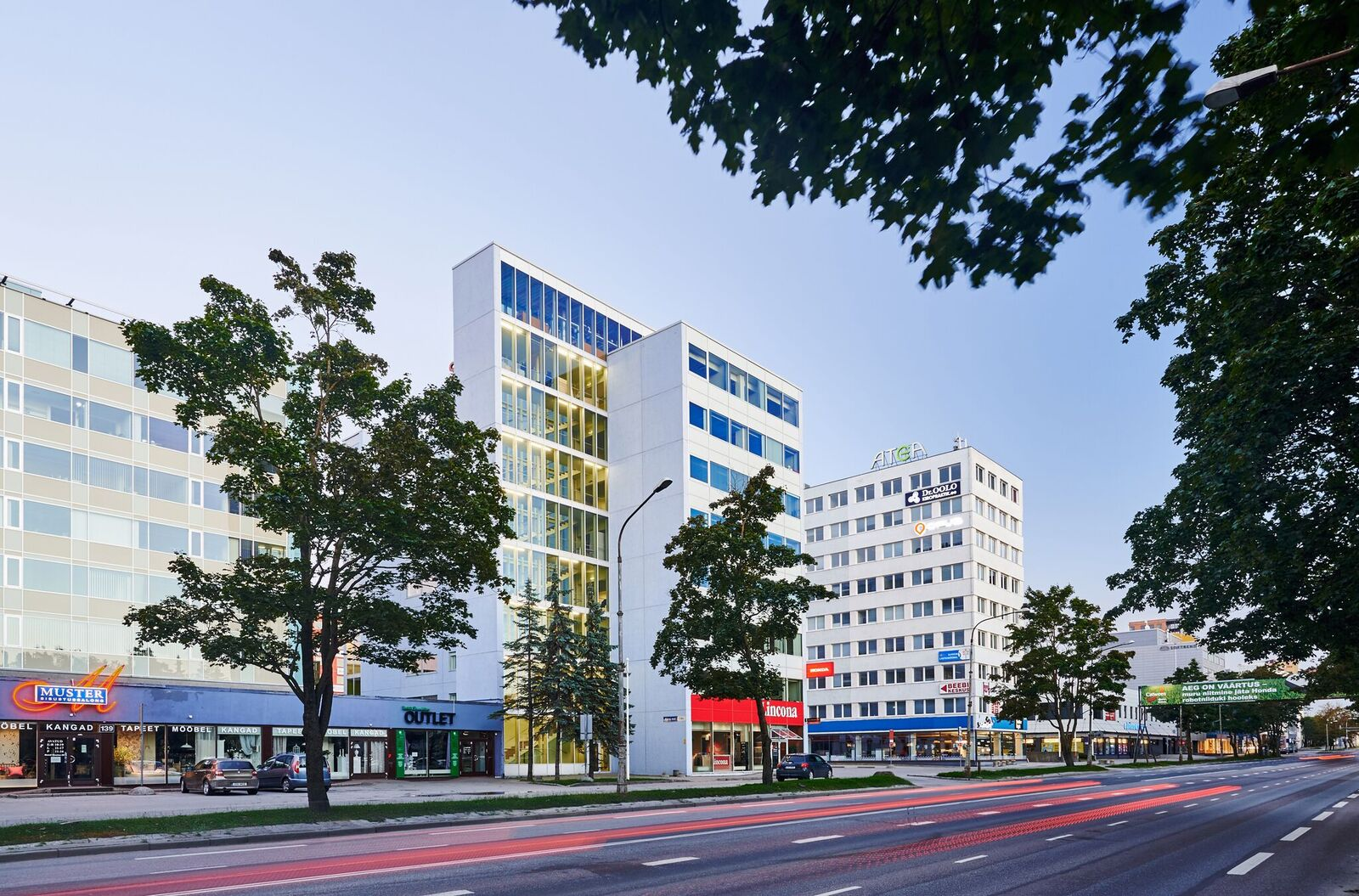 Lincona office complex - Northern Horizon Capital AS